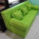 sofa bed inoac hijau muda polos2